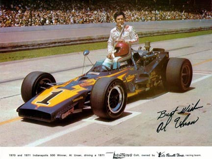 Bobby Auto Racing on Official Ims Qualifying Photo From 1971  Topper And Vpj Racing